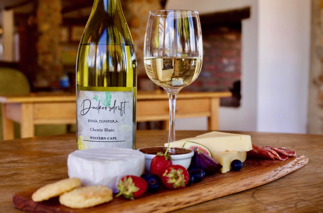 Chenin and Cheese board
