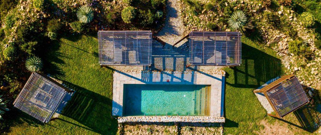 Duikersdrift Aerial Pool 1