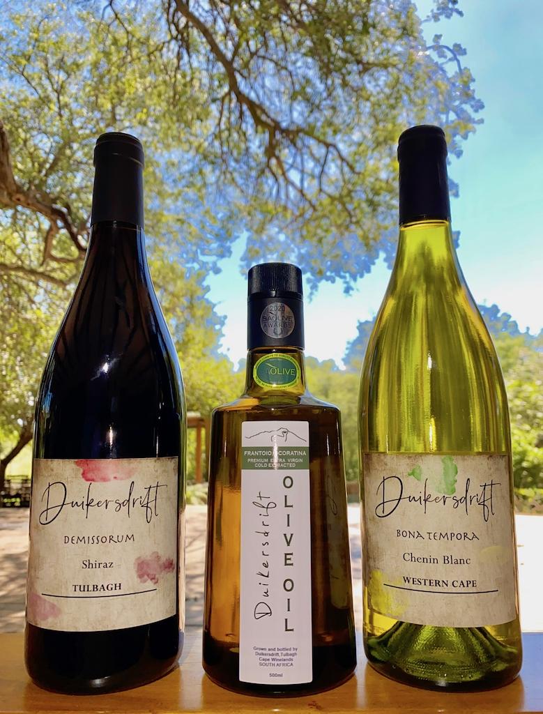 Duikersdrift wine & olives